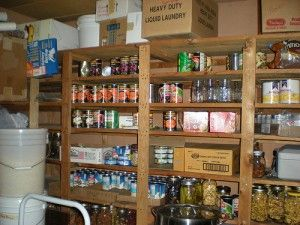 Build a Three Month Supply of Food Storage