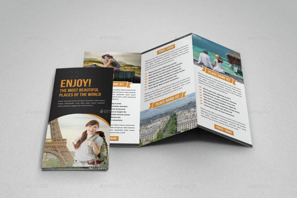 easy editable travel brochure template 25 travel brochure