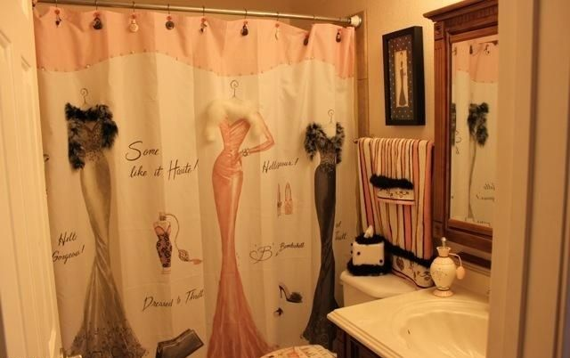 Shower Curtain Some Like It Haute Dressed To Thrill Hello Gorgeous