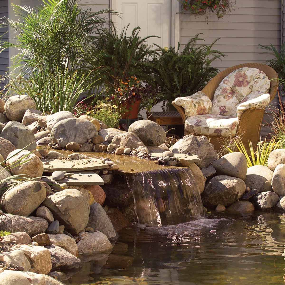 Pin On Backyard Waterfalls