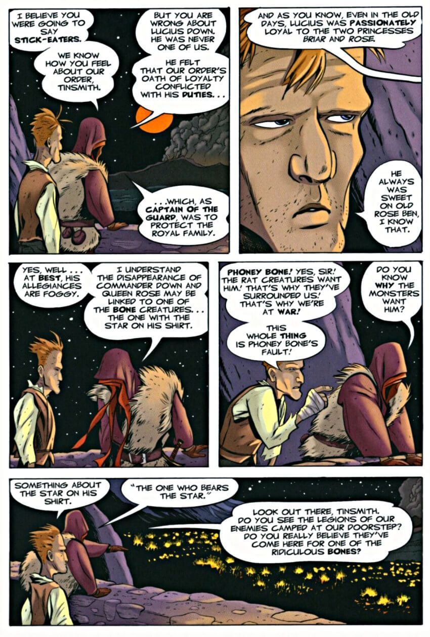 Page 9 Read Online Bone 7 Ghost Circles Graphic Novel By Jeff Smith Bone Books Graphic Novel Novels