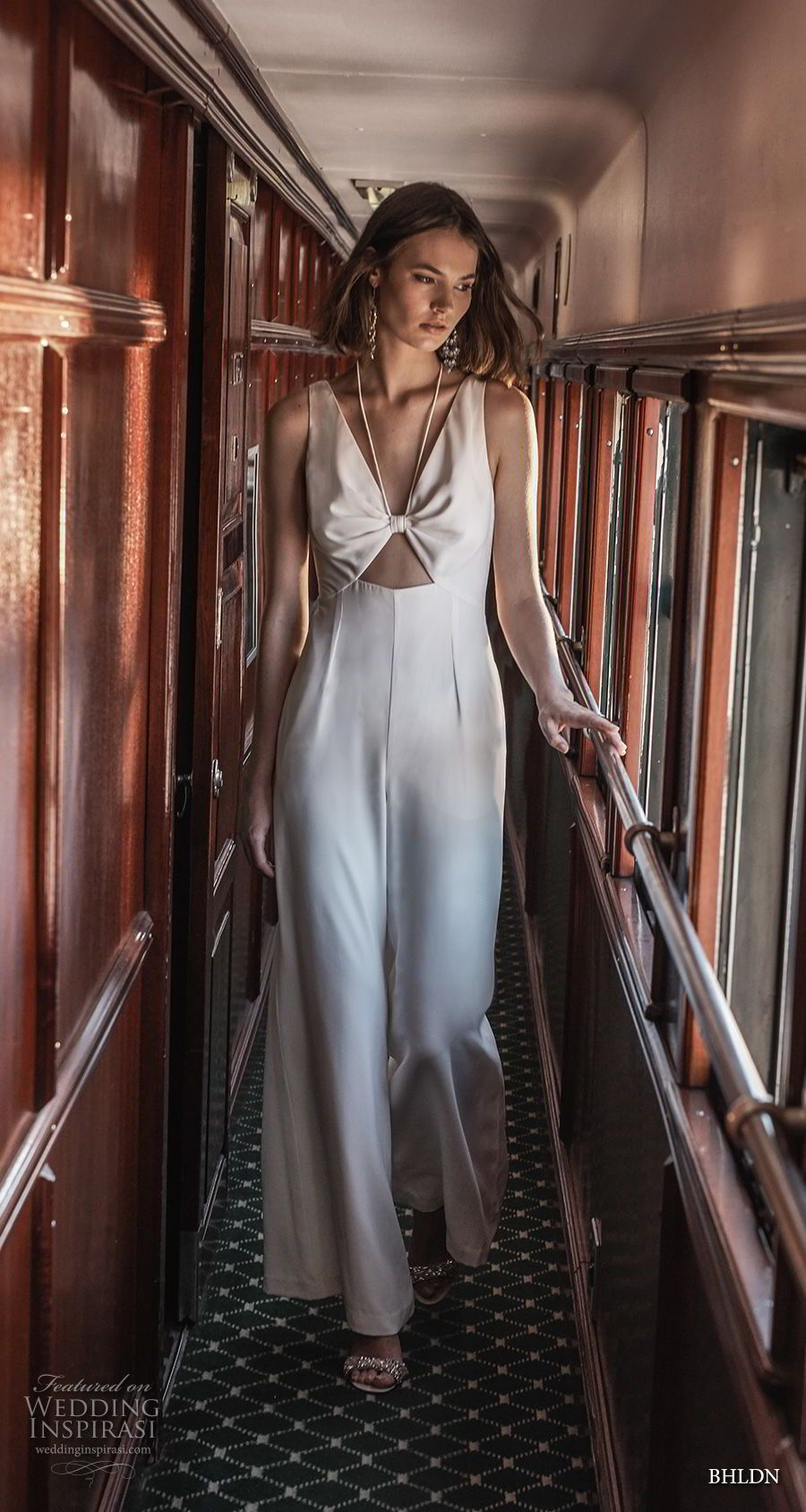 Simple modern wedding dress  Away We Gou BHLDN  Bridal Collection  Wedding Dress