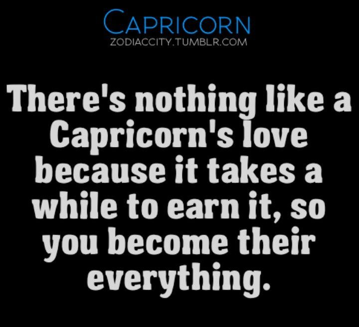 Signs of capricorn man in love