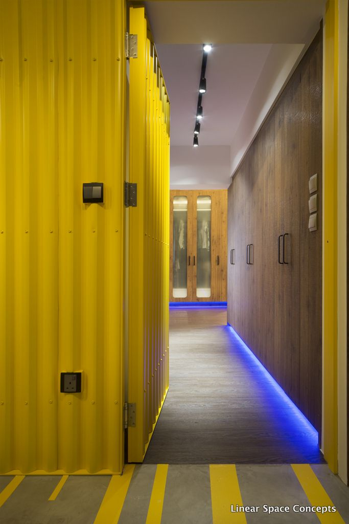Hallway Wall Ideas | Singapore HDB Interior Design | Pinterest ...