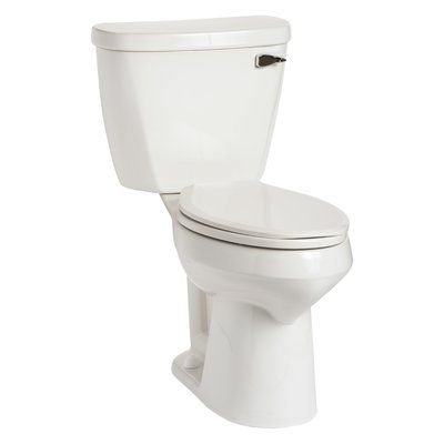 Mansfield Plumbing Products Summit Smartheight 1 6 Gpf Elongated Two Piece Toilet Seat Not Included Traditional Toilets Toilet China Toilet