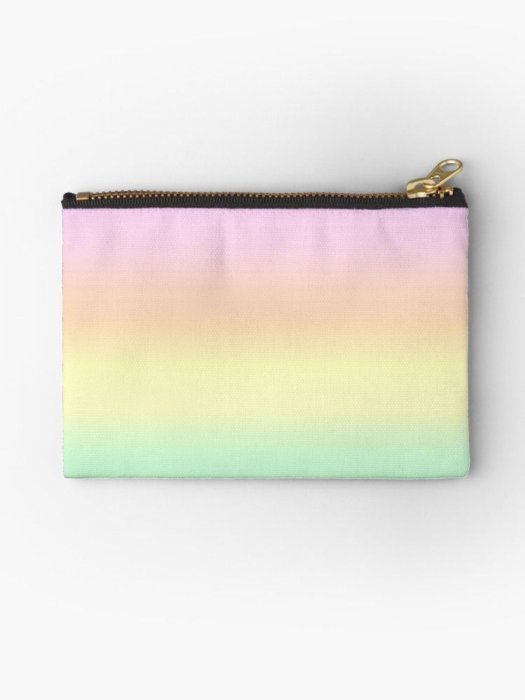 A Pretty Rainbow Of Pastel Colours Studio Pouch A Really Pretty