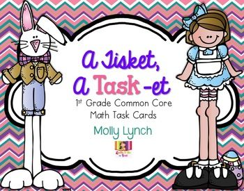 Get your kiddos excited for Easter with these Common Core aligned task cards!This set of 16 task cards will give your students a chance to practice their math skills in a fun way! To use, simply print, cut, laminate and add to a ring! These cards can be used independently, in a small group or whole class.