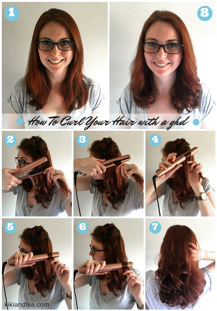 Tuesday Tips How To Curl Your Hair With A Ghd Ghd Flat