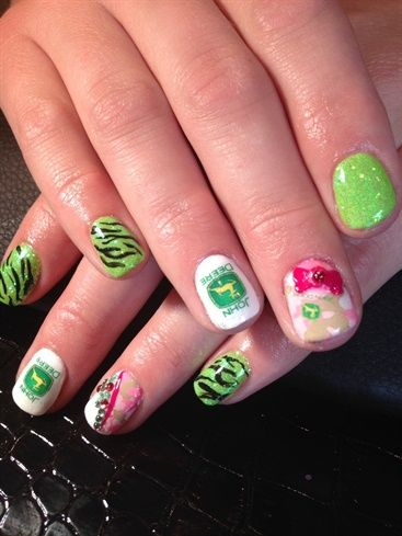 Farm Girl Glam By Veeahsworld Nail Art Cool Nails And Toes