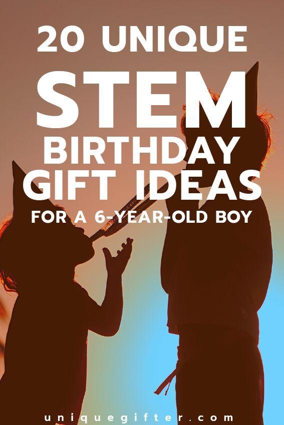 Fantastic STEM Birthday Gift Ideas For A 6 Year Old Boy