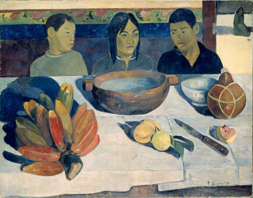 Paul Gauguin 1891 The Meal 1c uhr - Paris Musée d'Orsay - GAP (by petrus.agricola)
