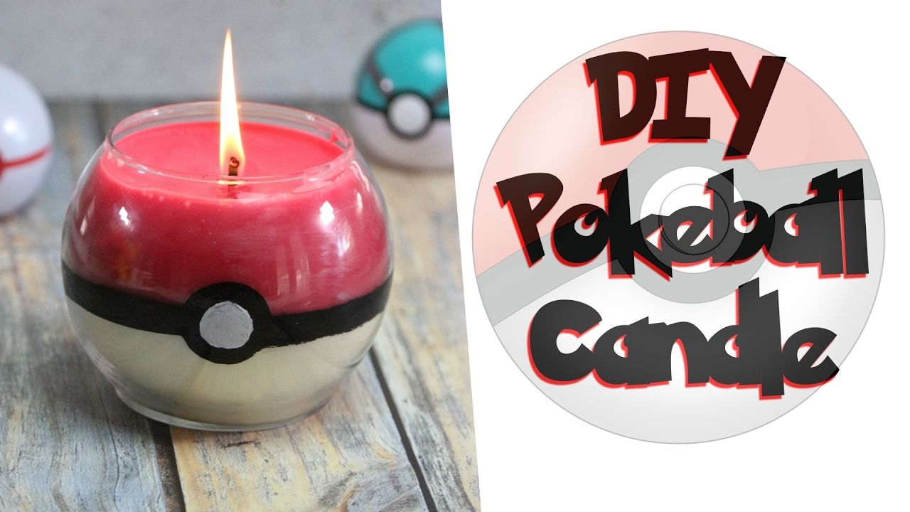Diy pokeball candle nerdy crafts ep 27 some of this