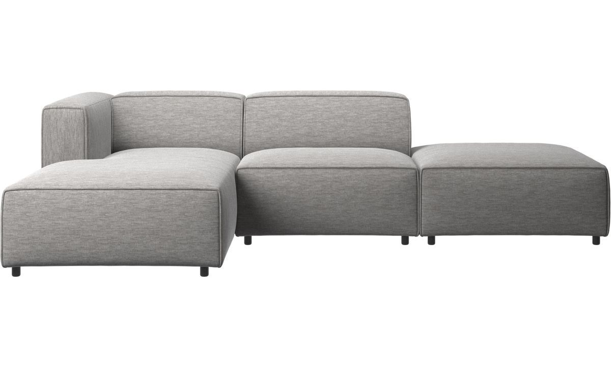 Bo Concept Canape Modular Sofas Carmo Sofa With Lounging And Resting Unit