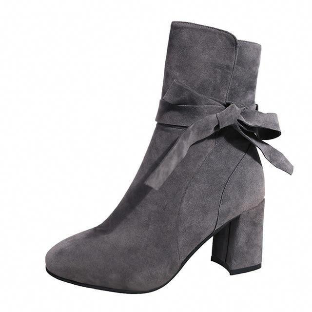 Veronika #Highheelboots | High heel boots | Boots, Suede