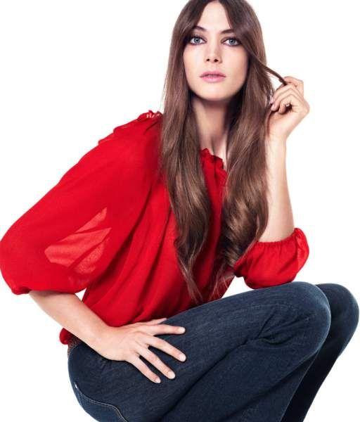 73a8b4646c Blusas rojas de moda 3