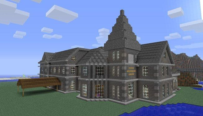 News Mount Falcon Manor House In Minecraft