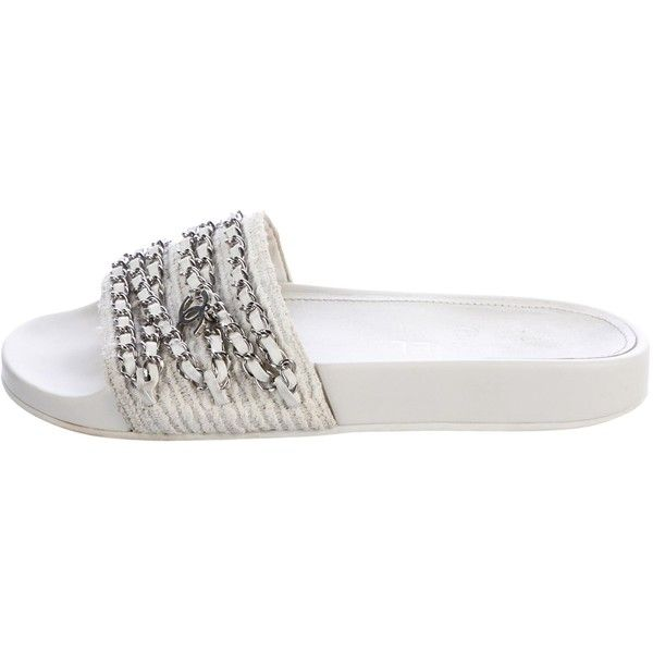 Pre-owned Chanel Chain-Link Slide