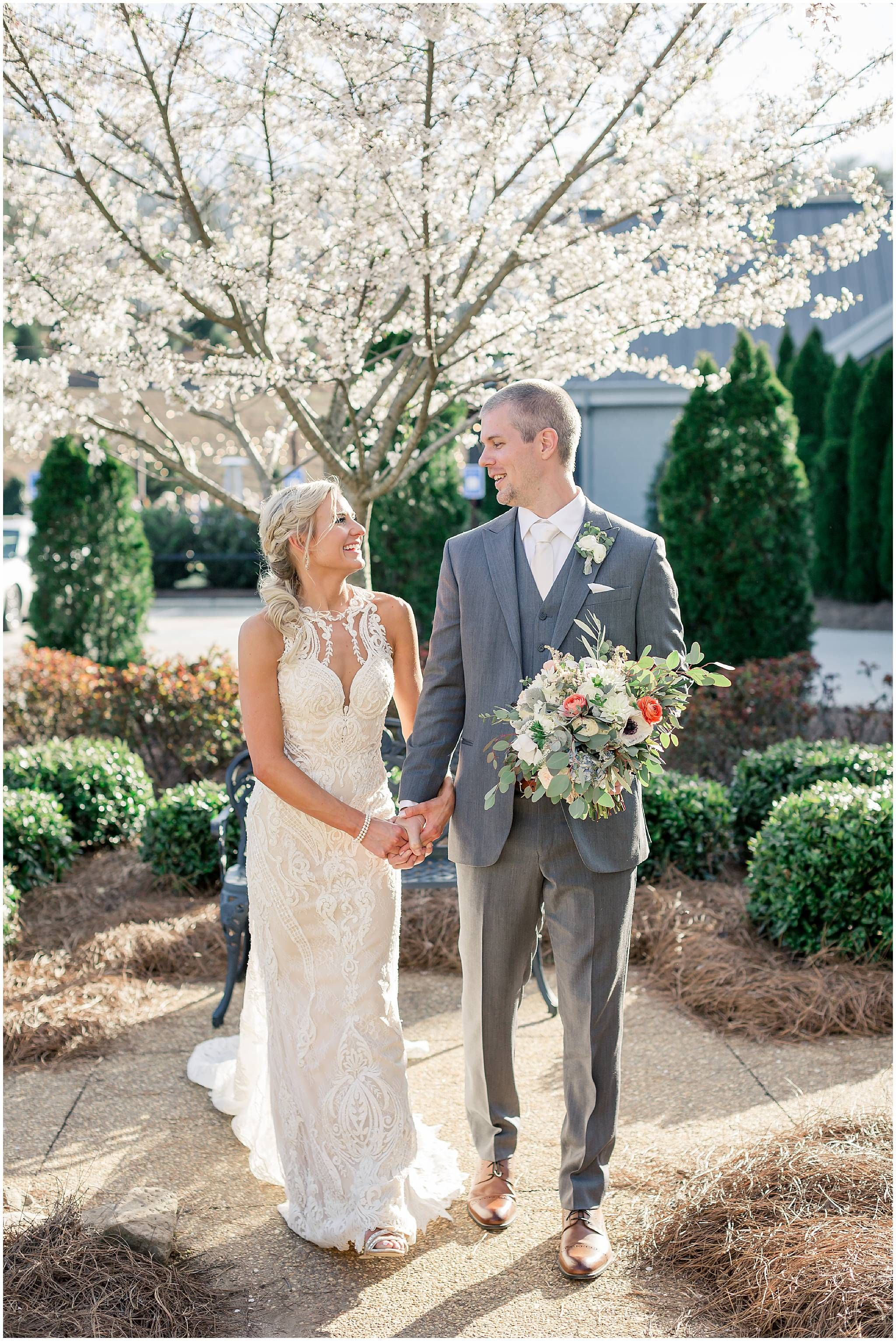 Katie & Brett's Yonah Mountain Vineyard Wedding Vineyard