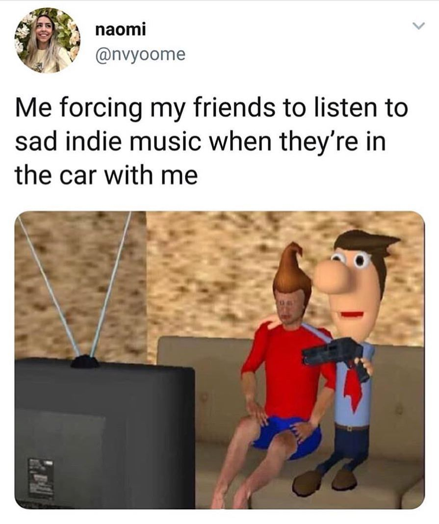Apparently I Have Bad Music Taste And Only Listen To Emo Bands But Idk Funny Hood Memes Hood Memes Funny Sports Memes