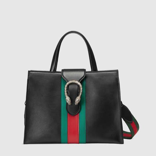 Gucci Dionysus leather top handle bag  7215fbf4c639