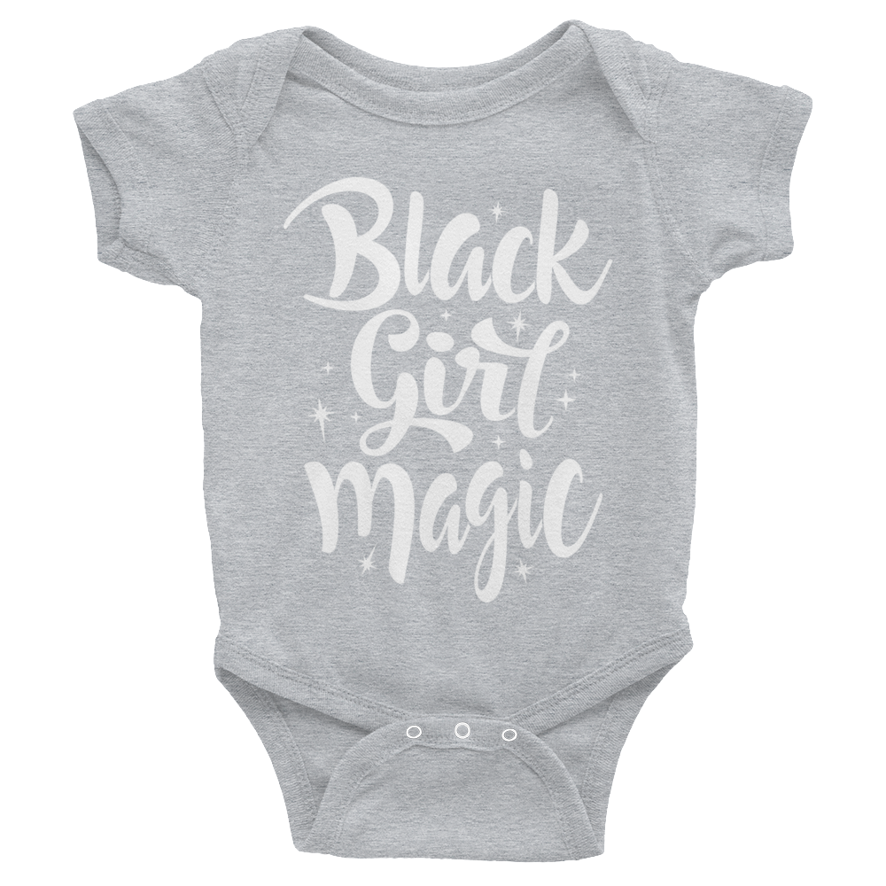 Black Girl Magic Infant Bodysuit Short Sleeve Baby Onesie Baby Photoshoot Boy Onesies