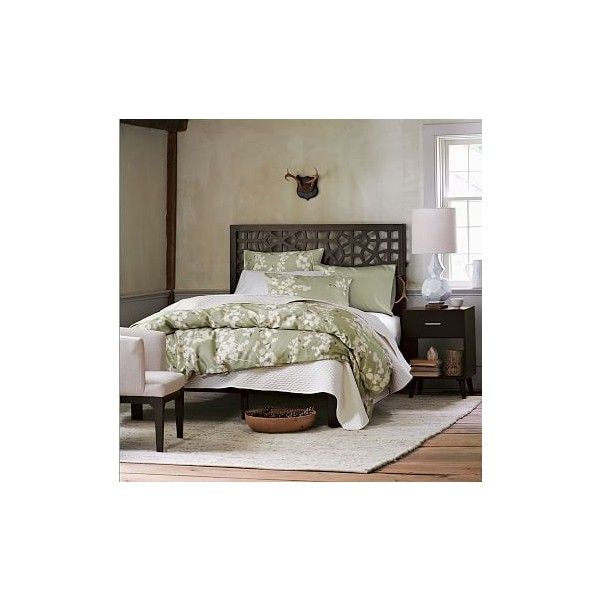 West Elm West Elm Morocco Headboard Simple Bed Frame Queen