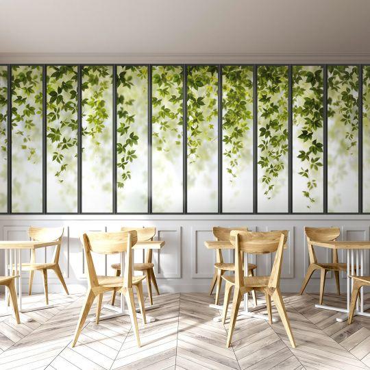 Panoramic Wallpaper Small Loft Windows And Virginia