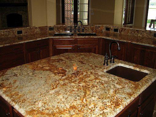 Solarius Granite Has Beautiful Gold And Dark Orange