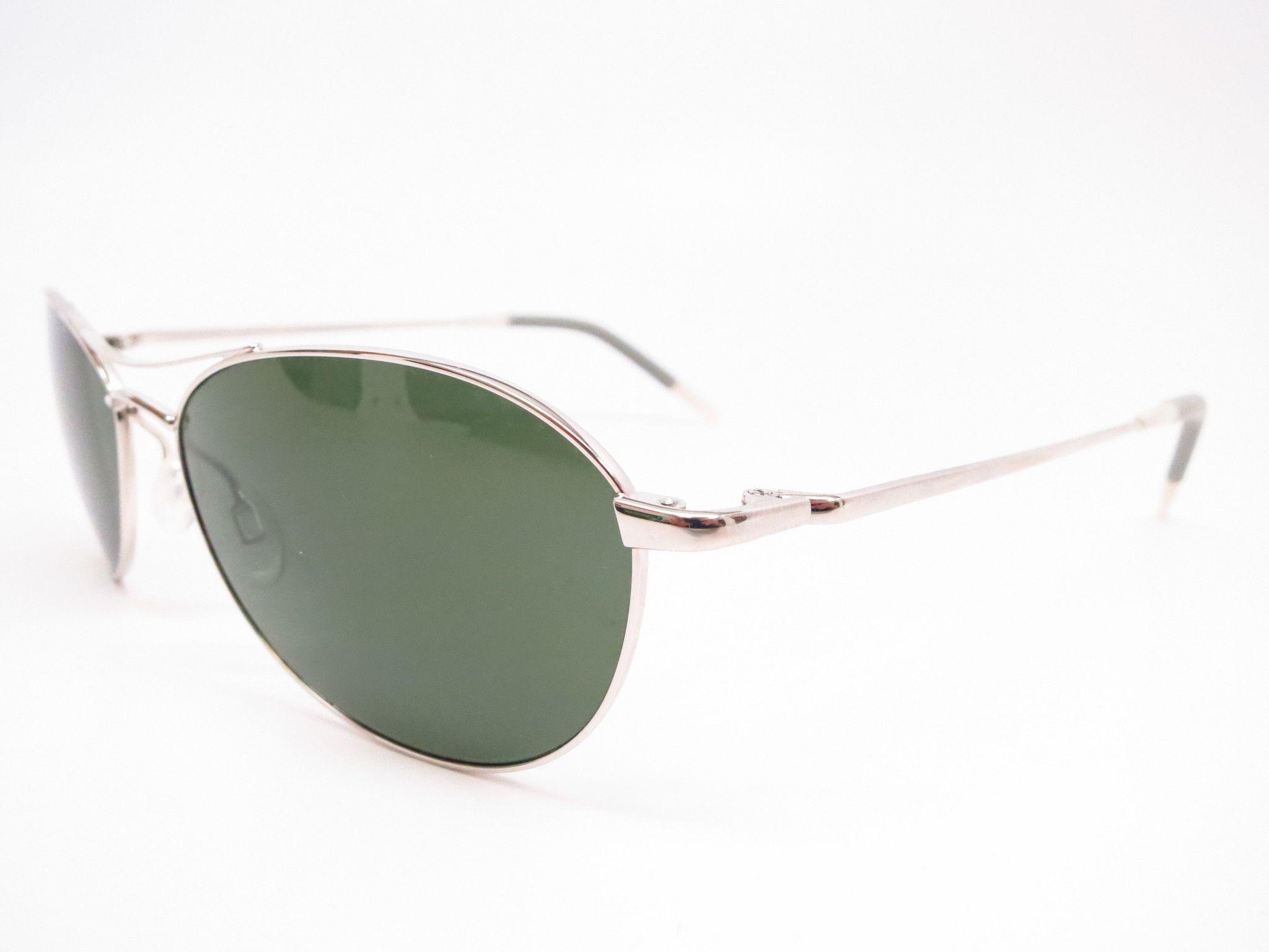 Oliver peoples aero ov 1005s 5036r5 silver sunglasses
