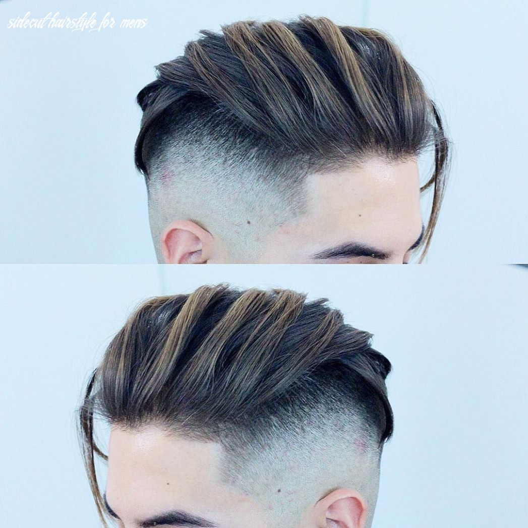 9 Sidecut Hairstyle For Mens In 2020 Hair Styles Undercut Fade Hairstyle Mens Hairstyles Undercut