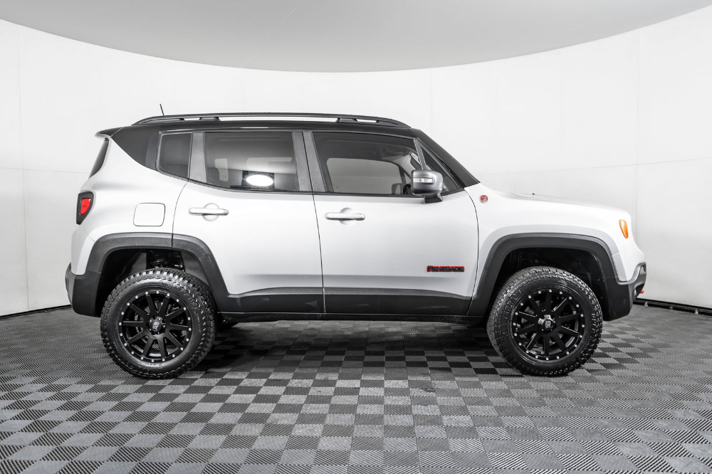 Used Lifted 2018 Jeep Renegade Trailhawk 4x4 Suv For Sale Northwest Motorsport Jeep Renegade Trailhawk Jeep Renegade Lifted Jeep