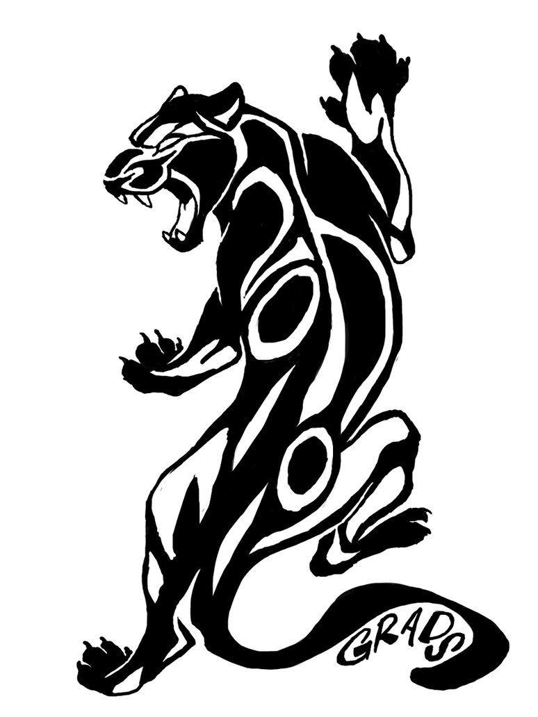Картинки татуировок пума