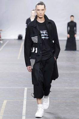 Y-3 Spring 2016 Menswear Fashion Show: Complete Collection - Style.com