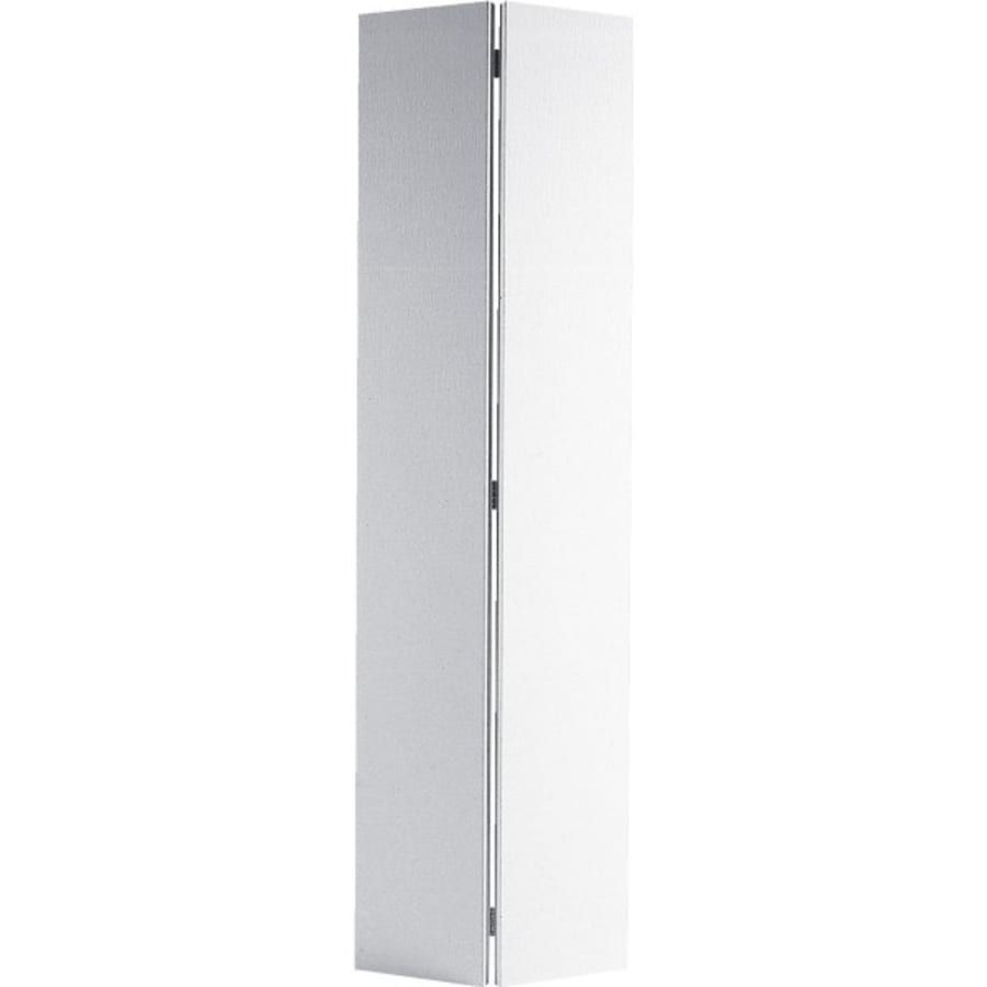 24x80 Flush Primed Hardboard Bi Fold Door Hd Supply In 2020 Bifold Doors White Mirror Frame Hardboard
