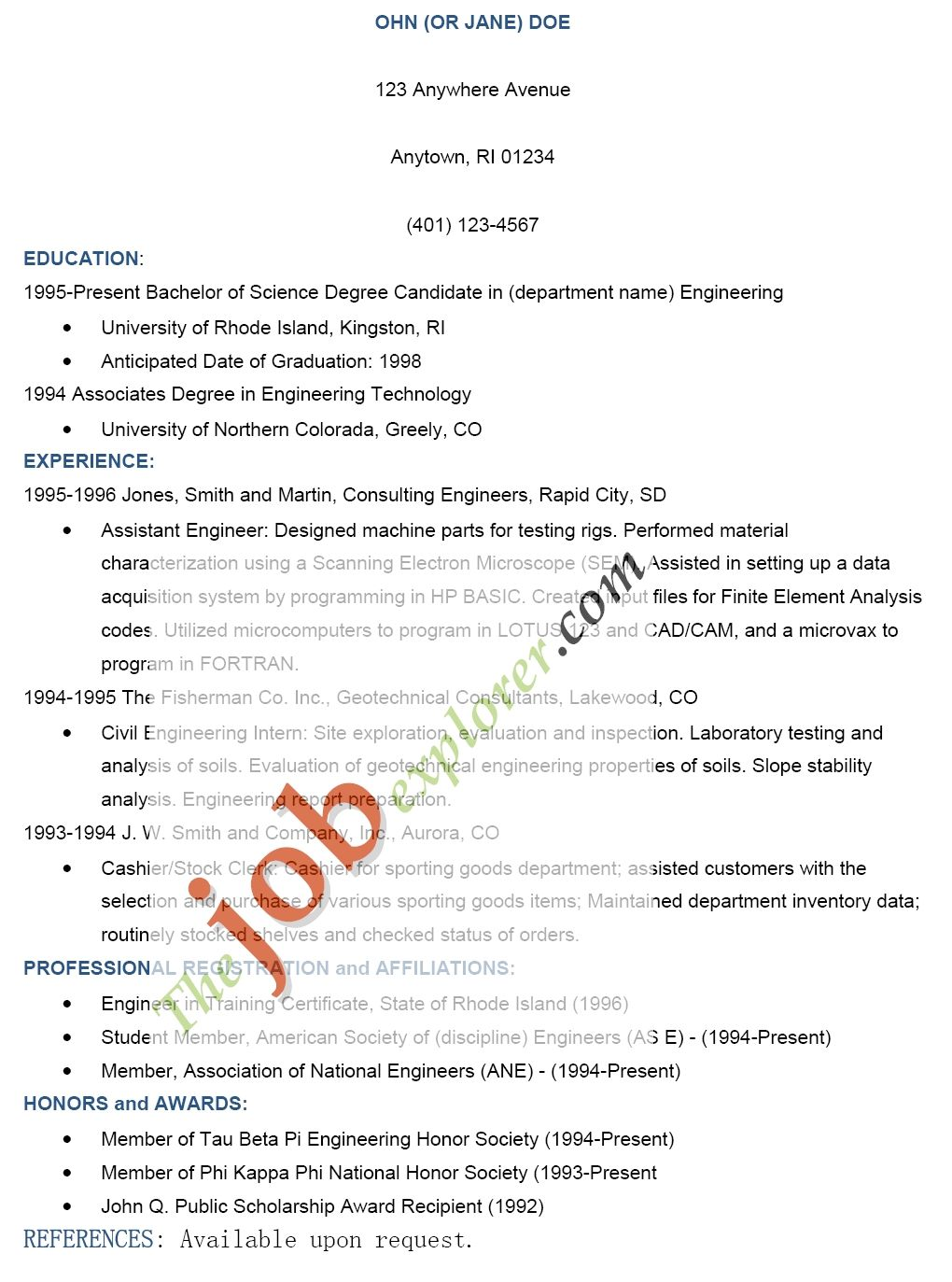 Cover Letter Sample For Consulting Job Proposal Writer Category