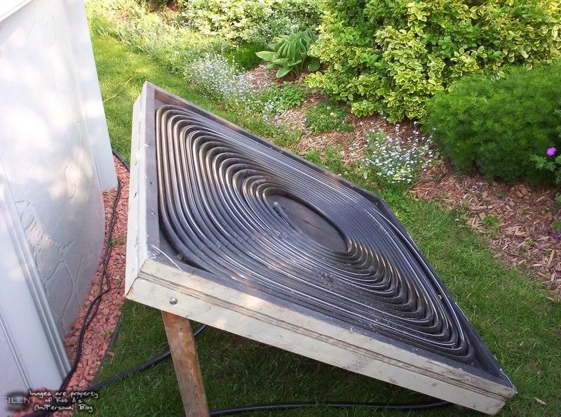 DIY Solar Pool Heater - Rob A\u0027s (Im)personal Blog Projets à - Panneau Solaire Chauffage Maison
