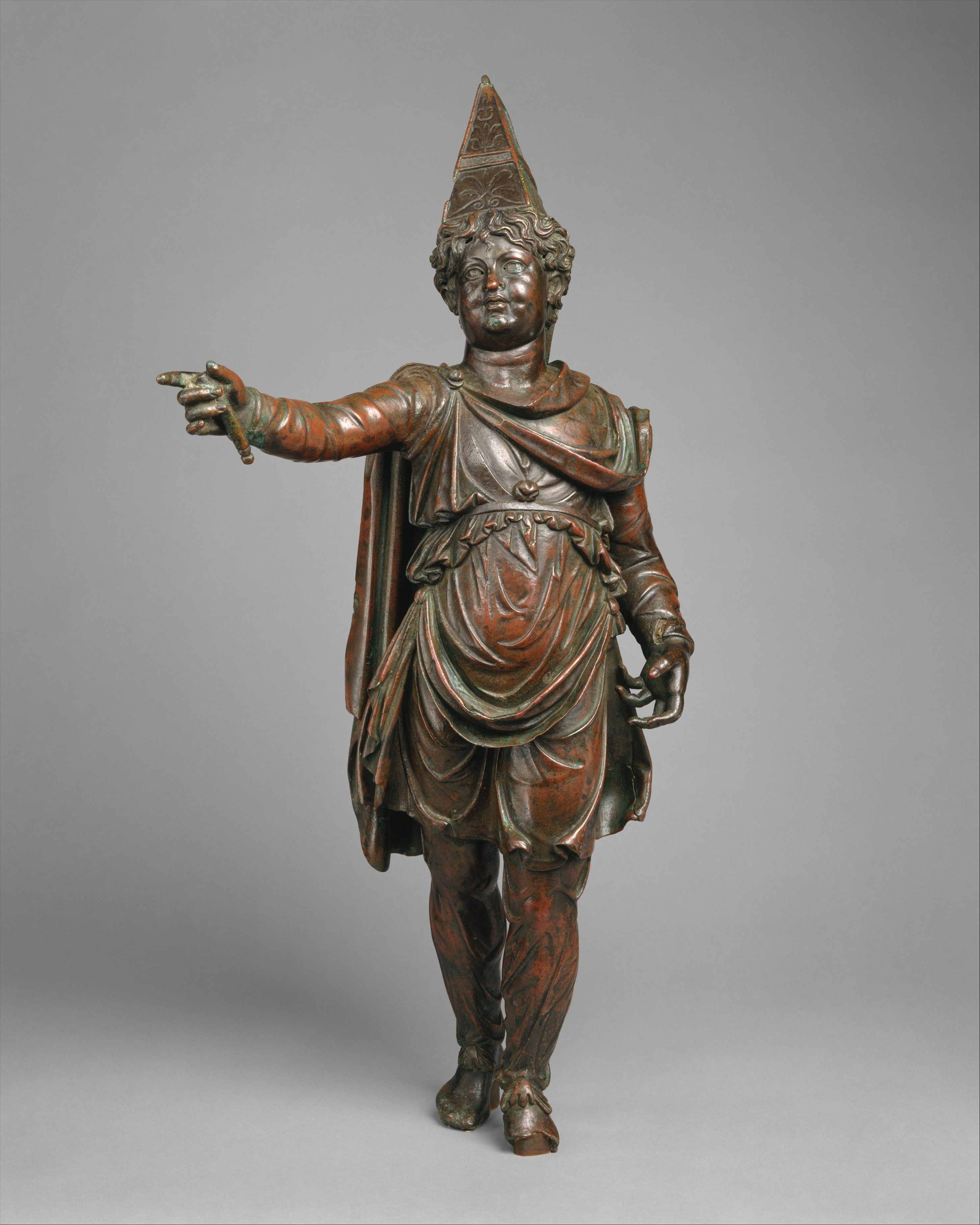Ancient Armenian statuette from 1st century B.C., Figurine common to Commagene and Armenia.