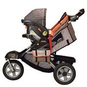 Need This So I Can Take The Baby With Me When I Run Jeep Stroller Jeep Baby Baby Strollers