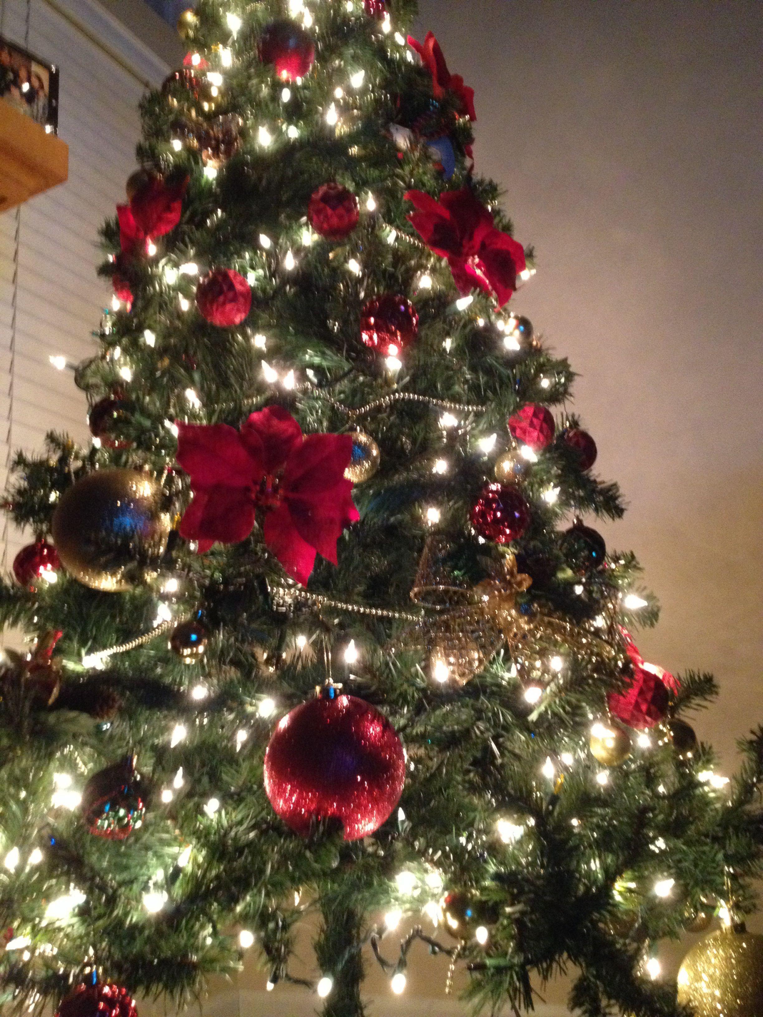 My Christmas Tree Decor All From Dollar Tree