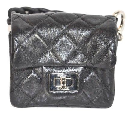 2bb7daaa9b96 Get the trendiest Clutch of the season! The Chanel Wallet Leather Quilted  Ankle Pouch Black Wristlet is a top 10 member favorite on Tradesy.