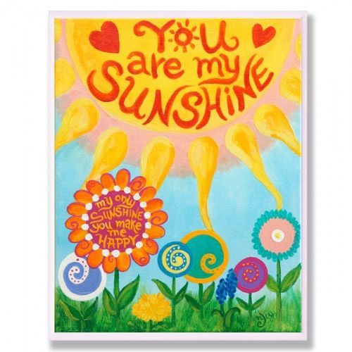 Print - You Are My Sunshine.