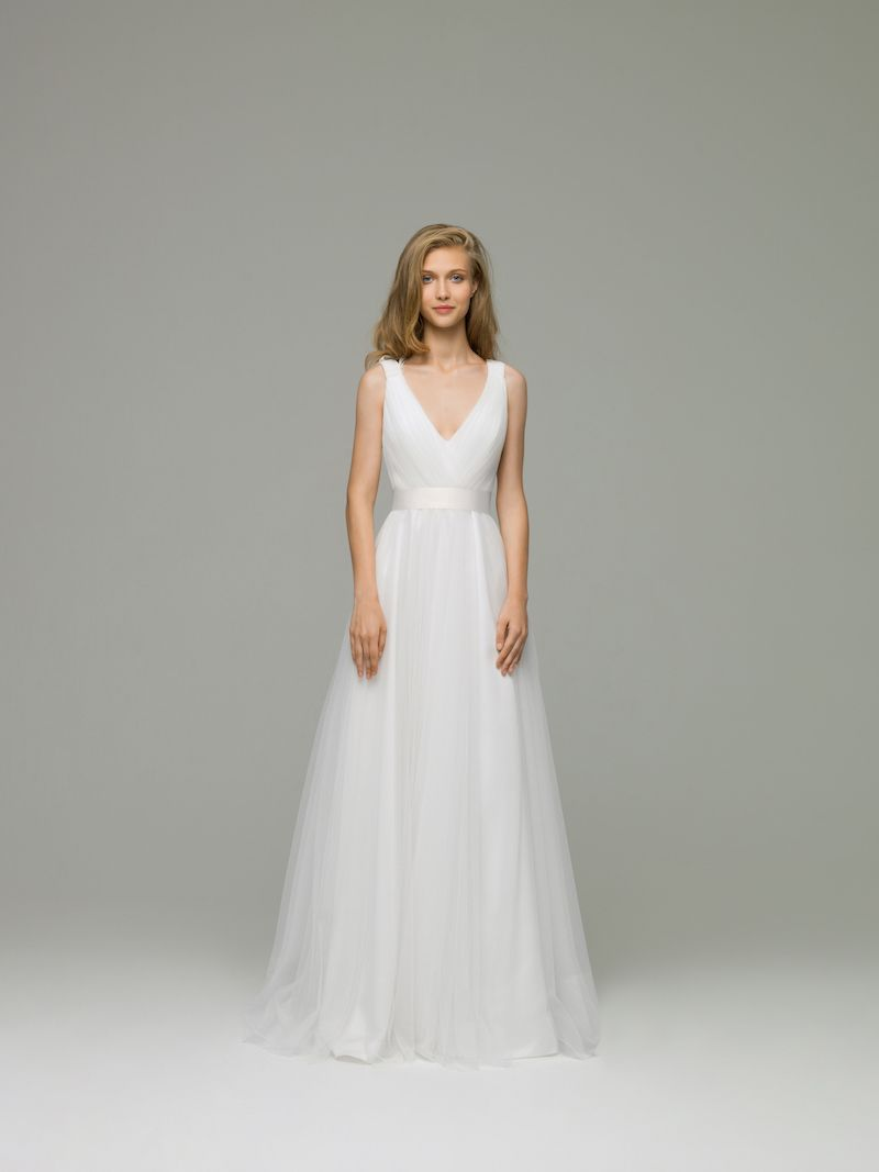 Erica wedding dress a classic look this wedding gown