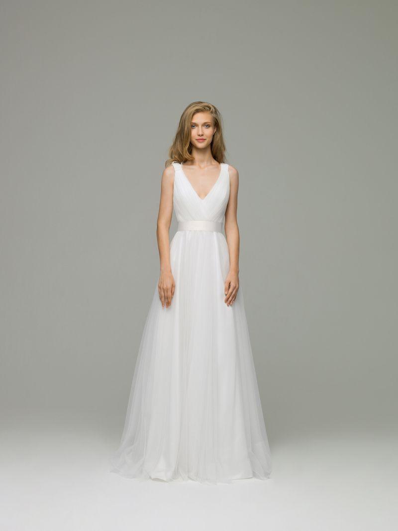 Erica wedding dress. Material: Tulle. Silhouette: Sheath. Helen ...