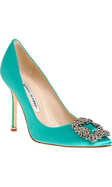 Manolo Blahnik Hangisi gonna diy these because they are to die for
