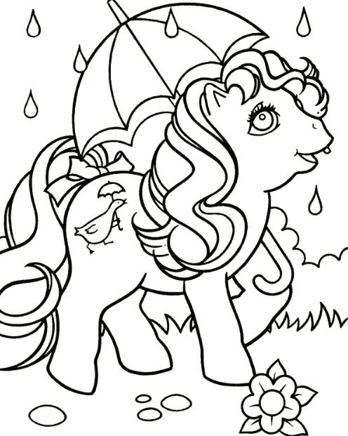 my little pony ausmalbilder | malvorlagen pferde