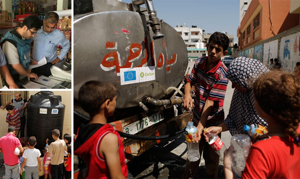 """Oxfam staff in Gaza: """"The most difficult work I have ever done"""" http://www.oxfamireland.org/blog/oxfam-staff-gaza"""