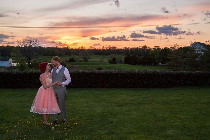 Bettie designed her own dress and we made it a reality together! Her skirt has 24 layers of tulle in it and she couldn't stop twirling when she put it on. Just sayin'.  And look at her rocking hair! She was such a pleasure to work with. (Blog | Eckstein Photography)