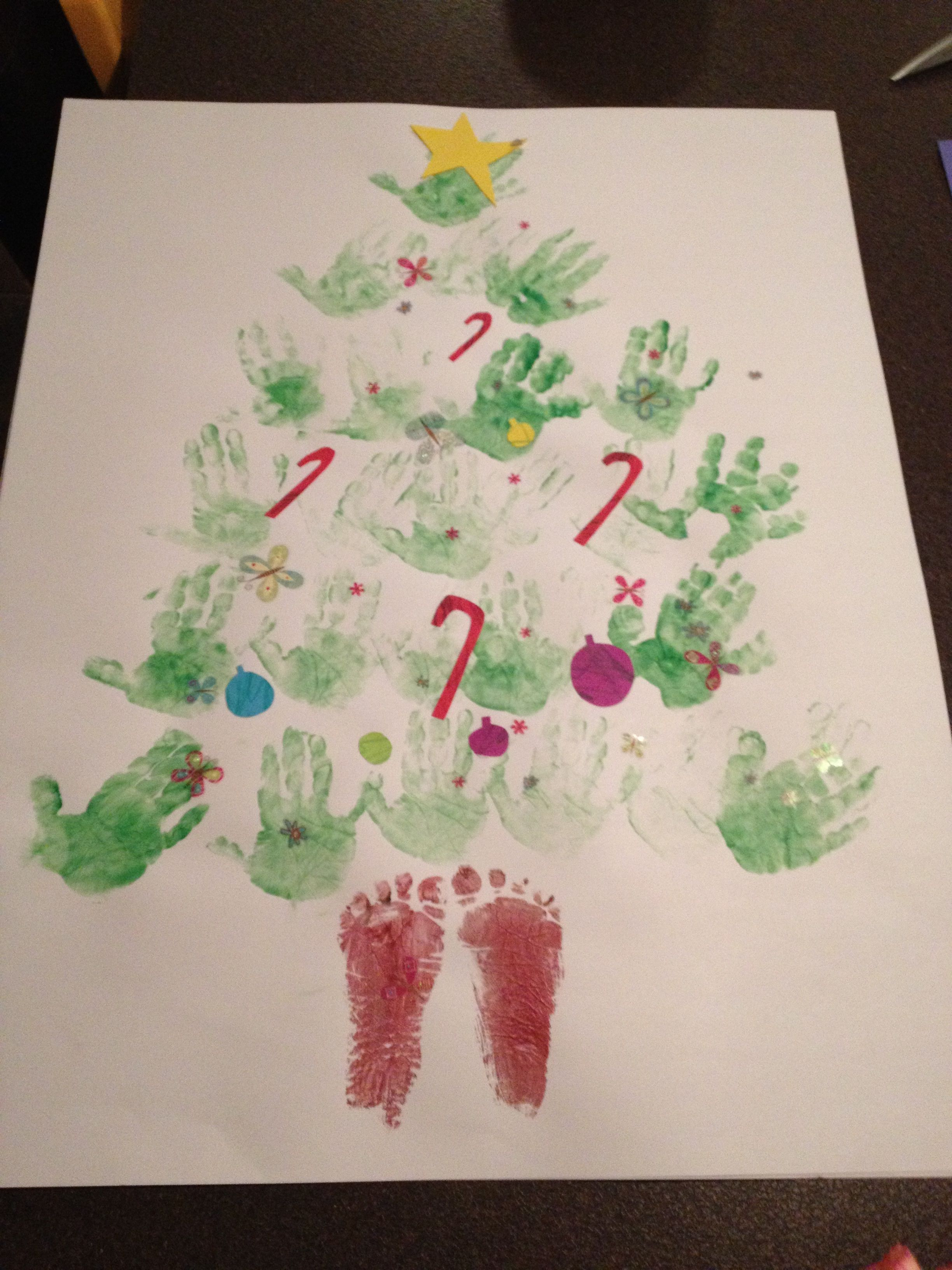 39+ Crafts for 1 year olds christmas ideas