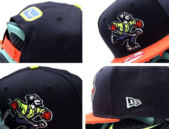 a6fd3eda8 Custom Johnny Canuck Vancouver Canucks 9Fifty Snapback Cap by NEW ...