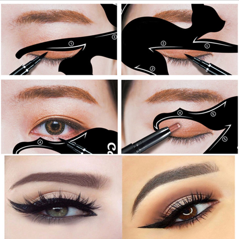Beauty & Health Humorous 2pcs Eyeliner Mold Wings Seal Stamps Easy To Wear Eyes Wing Liquid Eye Liner Tools Maquiagem Beauty Portable Cosmetic Delineador